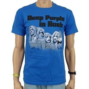 Deep Purple - In Rock T-shirt blau Größe M