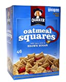Quaker Oatmeal Squares Crunchy Oatmeal Cereal 58 Ounce Value Box