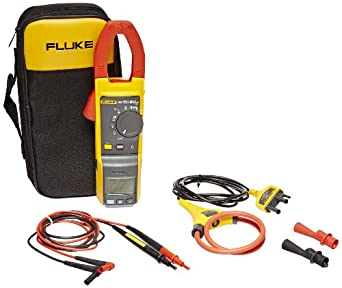 Fluke 381 Remote Display True RMS Clamp-Meter with Flexible Probe, Voltage, Frequency, and Resistance Measurement