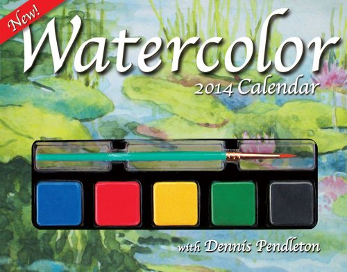 Watercolor 2014 Day-to-Day Calendar