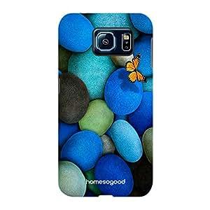 HomeSoGood Flying Over Transparent Water Multicolor 3D Mobile Case For Samsung S6 ( Back Cover)