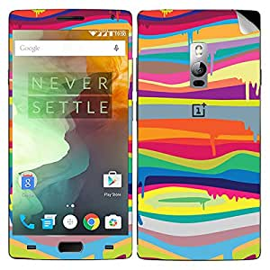 Theskinmantra Rainbow Paint OnePlus Two mobile skin
