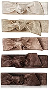 Emi-Jay Set of 5 Hair Ties, Brown Ombre