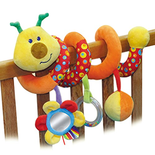 PARKFIELD Baby Spiral Bed & Stroller Toy-Bed Musical Rattles Hanging Bell-Bug Baby Toys Zone