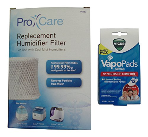 how to put vicks pad in humidifier