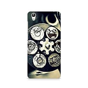 TAZindia Designer Printed Hard Back Case Cover For Vivo Y51L