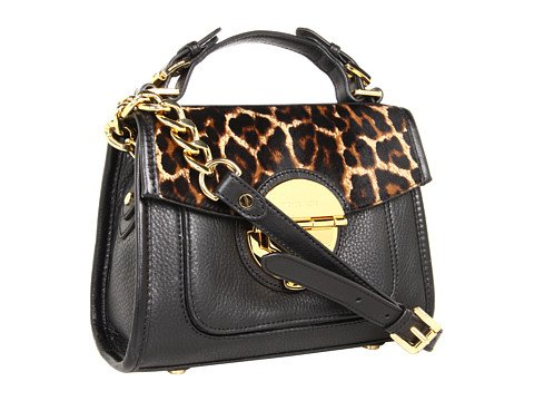 Michael Michael Kors Margo Medium Satchel Cheetah Haircalf