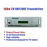 GOWE 100W TV transmitter UHF/VHF 50W 100W 300W in 19' rack Professinal designed for TV station