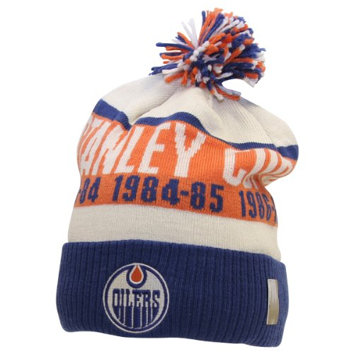 Review for CCM NHL Retro Stanley Cup Champion Ball Top Knit Hat (Edmonton Oilers)