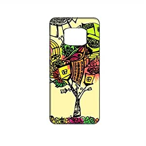Vibhar printed case back cover for Samsung Galaxy Alpha StylishTree