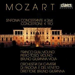 Mozart : Sinfonia concertante, Concertone