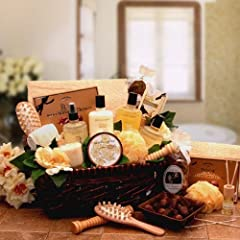 Vanilla Therapy Bath and Body Spa Basket for Women