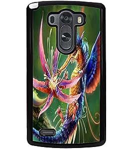 ColourCraft Fantasical Animal Design Back Case Cover for LG G3