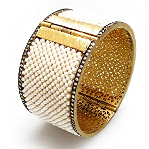 Womens gold vermeil bangle