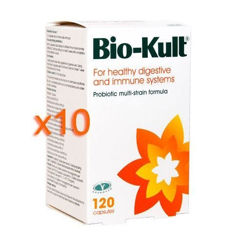 Bio-Kult - Advanced Probiotic Formula (10 Pack - 1200 Caps)