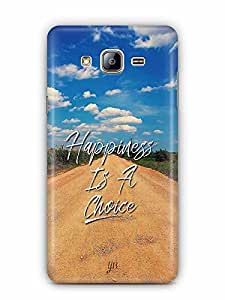 YuBingo Happiness is a Choice Designer Mobile Case Back Cover for Samsung Galaxy On 5