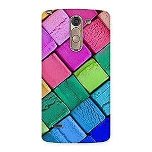 Impressive Block Colors Print Back Case Cover for LG G3 Stylus