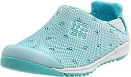 Columbia BC3190 Drainmaker Slip-On Water Shoe (Toddler/Little Kid/Big Kid),Pacific Rim/White,9 M US Toddler