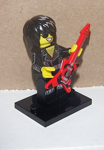 LEGO Mini-Figures - Rock Star - (Series 12) + Online Code