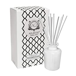 Aquiesse Reed Diffuser Gift Set, White Iris and Vetiver