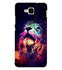 EPICCASE Majestic lions Mobile Back Case Cover For Huawei Honor 5c (Designer Case)