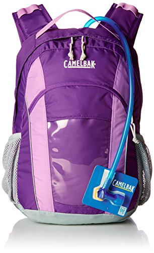 Camelbak Kids Scout 12L Hydration Pack With 1.5L Bladder (Pansy/African Violet)
