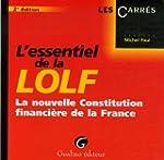 L'essentiel de la LOLF : La nouvelle...