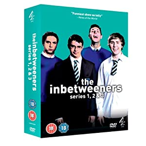 The Inbetweeners - Series 1-3 - Complete (DVD) - $22.95 delivered