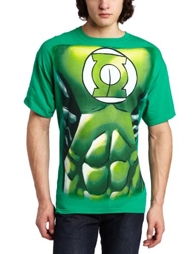 DC Comics The Green Lantern Muscle Costume Mens T shirt L Green