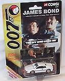 Corgi james bond 007 the spy who loved me with white car 1.64 ish scale diecast model