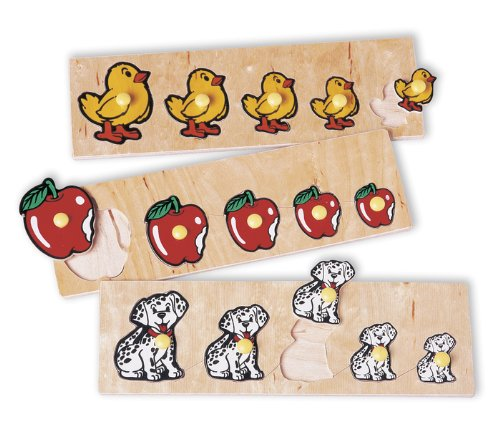 Cheap Guidecraft Size Progression Puzzles (Set of 3) (B0008327OQ)