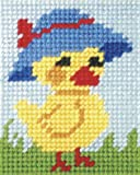 Orchidea Tapestry Embroidery Kit Mother Duck