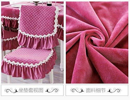 WEISHENMEN Colore solido, tavolo e sedia set (1 posti + un coperchio posteriore) BULAIDANZI