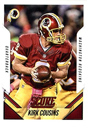 2015 Score Football Card #50 Kirk Cousins MINT