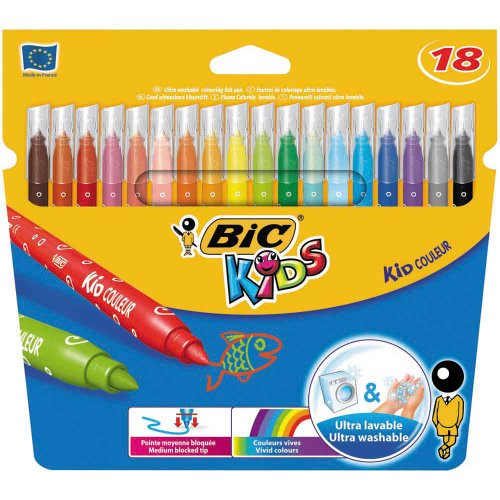 Bic Kids Matite Colorate Aquacouleur Effetto