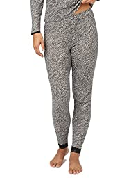 Cuddl Duds Women's Softwear Lace Edge Legging