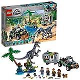 LEGO75935 - JurassicWorld Baryonyx' Kräftemessen: die Schatzsuche, Bauset - LEGO