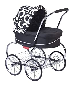 Valco Baby Classic Princess Doll Stroller, Cirque/Black, 19