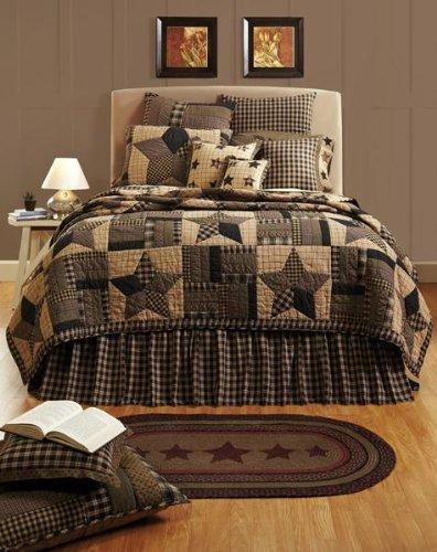 "Bingham Star King Bed Skirt 78x80x16"""