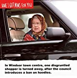 Have I Got News For You Card - Queen Elizabeth and Hoodies Card Windsor
