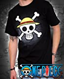 ABYstyle - ABYTEX040 - One Pièce - Déguisements et Imitations - T-Shirt Basic Homme Skull With Map...
