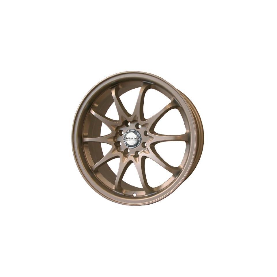 17x7 Maxxim Deadline (Bronze) Wheels/Rims 5x100/114.3 (DA77T04408)