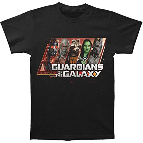 Guardians of the Galaxy Portrait Men's T-Shirt - Black