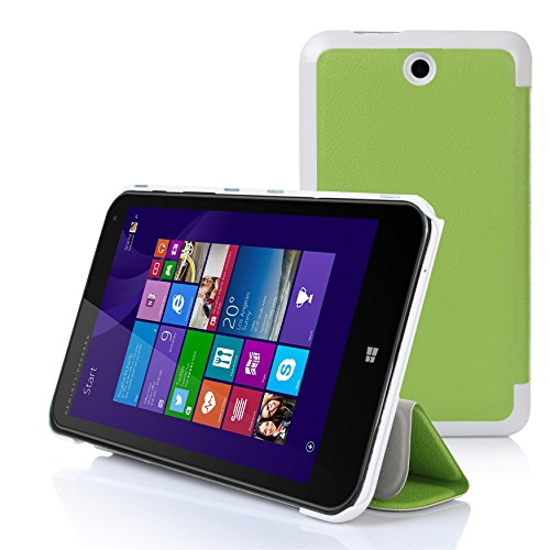 IVSO HP Stream 8 Ultra Lightweight Slim Smart Cover Case-(Lifetime warranty)-will only fit HP Stream 8 Tablet (Green) at Electronic-Readers.com