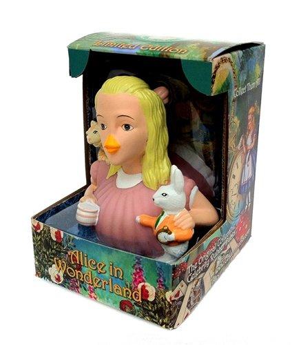 CelebriDucks Alice in Wonderland RUBBER DUCK Bath Toy
