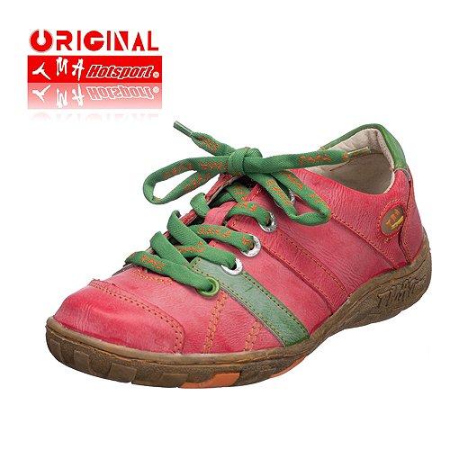 TMA EYES 1369 Schnürer Gr.36-42 mit bequemen perforiertem Fußbett , ANTIKOPTIK , Leder 39.35 super leichter Schuh der neuen Saison. Schuh fällt etwas kleiner aus. ATMUNGSAKTIV in Rot Gr. 36