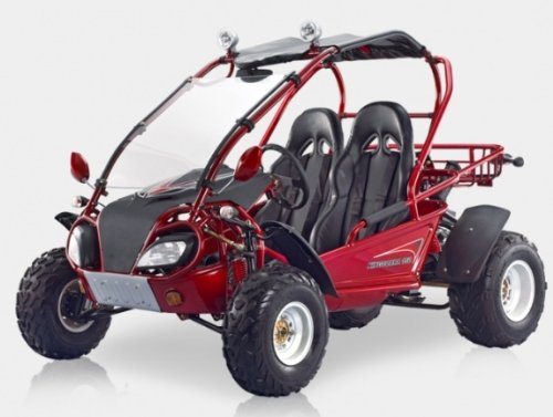 BMS King Cobra 150 RED Gas 4 Stroke 149cc Buggy Go Kart