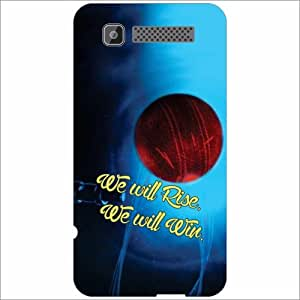 Intex Cloud Y11 Back Cover - Silicon Winning Ball Designer Cases