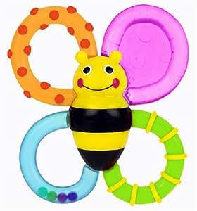 Sassy Buzz n' Bite vibrating TEETHER baby teething toys