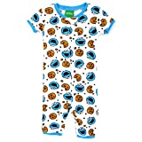 Cookie Monster Toddler Shorts Romper Pajamas